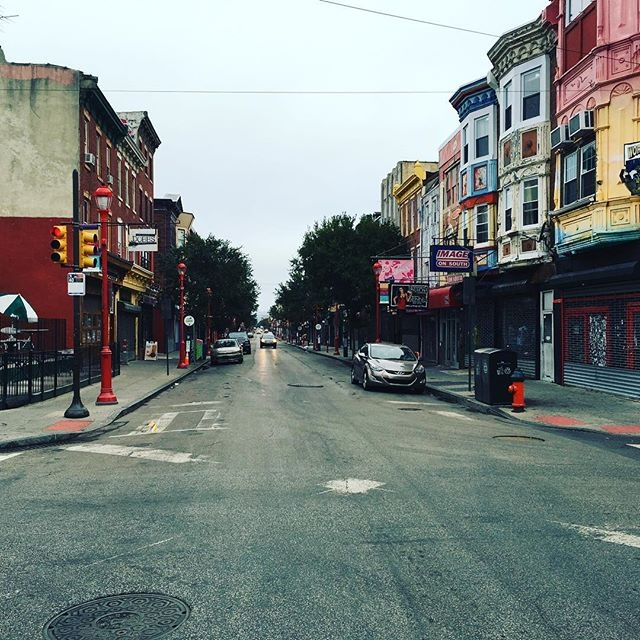 South Street the morning after #philly #jawnville