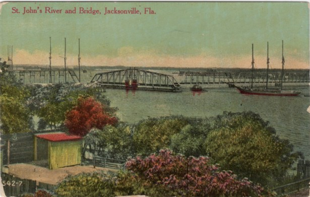 St. Johns River and Bridge