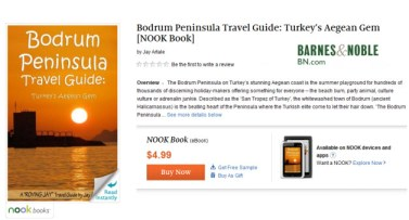 Barnes & Noble Image for Jay Artale Bodrum Peninsula Travel Guide Turkey