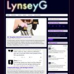 lynseyg.com - website designed by jayel Draco