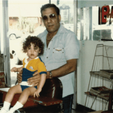 Jay Michael from Bravo with his father