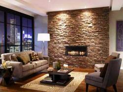 Small Of Stone Fireplace Ideas