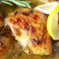 Paleo Lemon Butter Chicken
