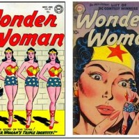 Wonder Woman And The Doubles - Retro Comic Book Covers