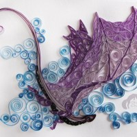 Incredible Folded Paper Art Dragon