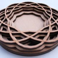 Fascinating Laser Cut Wood Art by Ben James