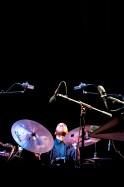 Charles Lloyd beim Jazzfest Berlin 2015 - hier: Eric Harland. Foto: Petra Basche