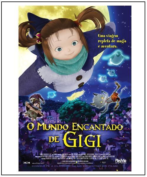 Poster do filme O Mundo Encantado de Gigi