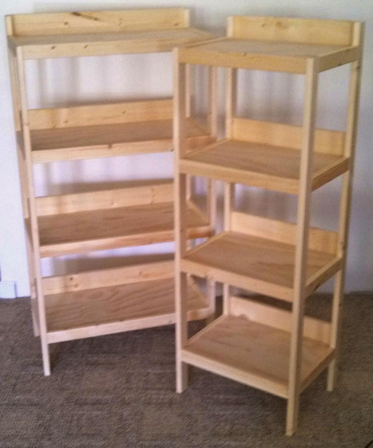 Fullsize Of Basic Wooden Shelves