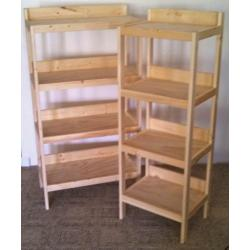 Small Crop Of Basic Wooden Shelves