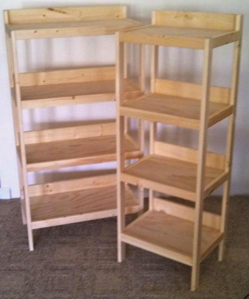 Medium Of Basic Wooden Shelves