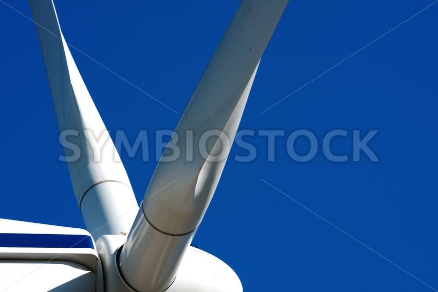Closeup Windmill Alternative Energy - Jan Brons Stock Images