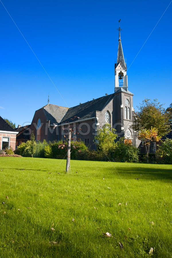 Dutch country church. - Jan Brons Stock Images