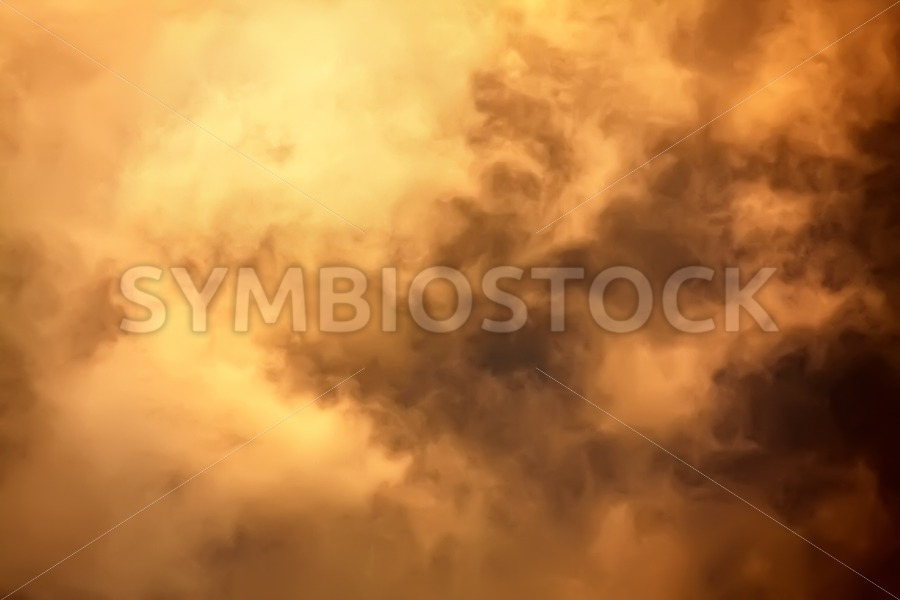 Inside cloud flames - Jan Brons Stock Images