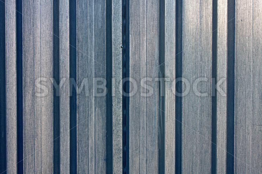 Steel sheet piling wall - Jan Brons Stock Images