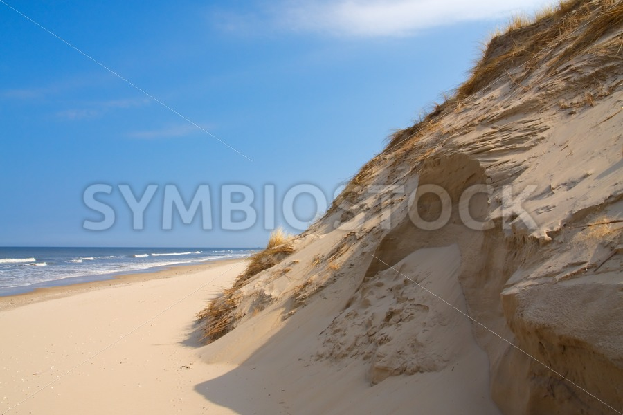 Steep sand dunes. - Jan Brons Stock Images