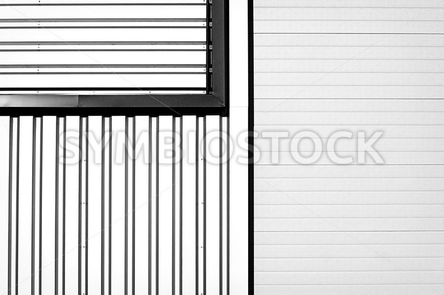 Closed air grating - Jan Brons Stock Images