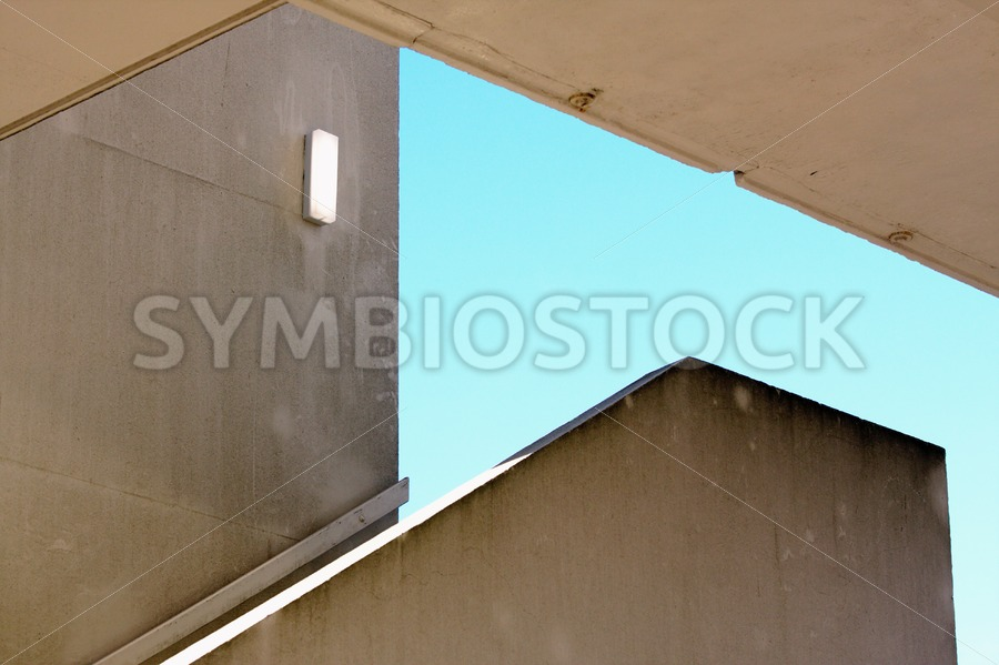Outdoor Concrete Staircase - Jan Brons Stock Images