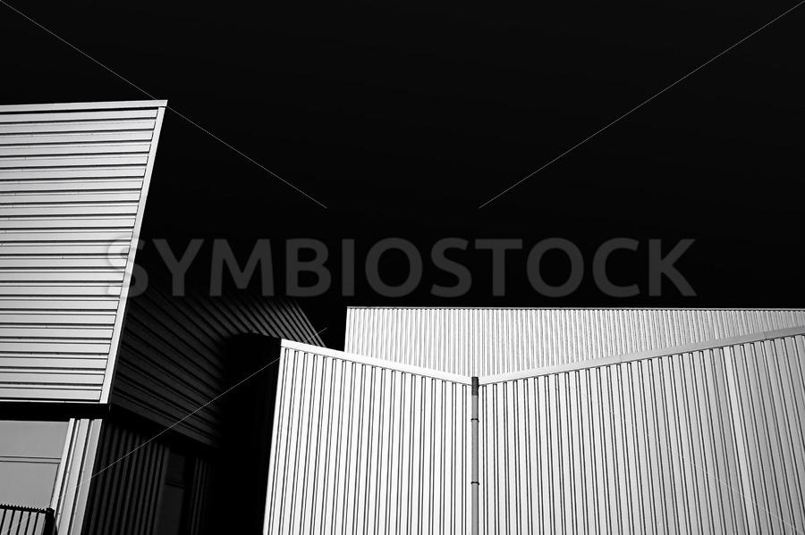 Steel building - Jan Brons Stock Images