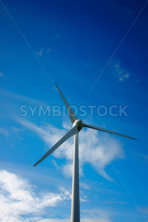 Windmill energy production - Jan Brons Stock Images