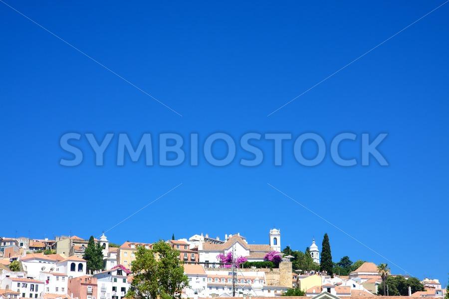 Lisbon city view - Jan Brons Stock Images
