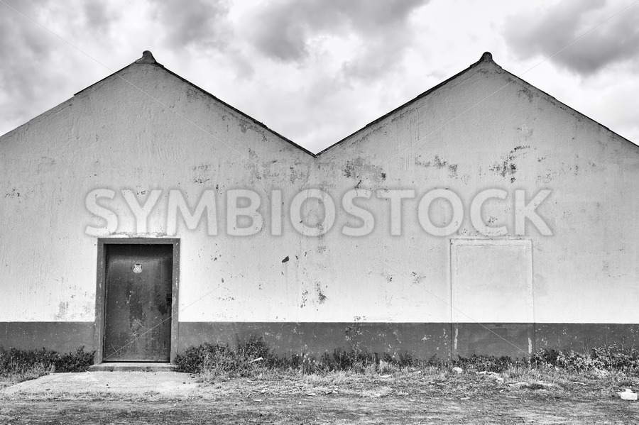 Old Warehouse Exterior - Jan Brons Stock Images