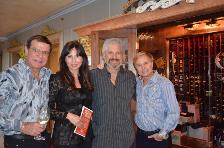 John Schultz, Fran Goldstein, Katz JCC Board President Eric Goldstein and Gary Hill