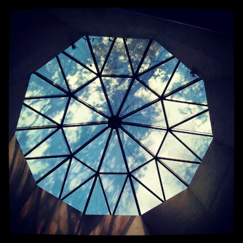Not the skylight in my house.