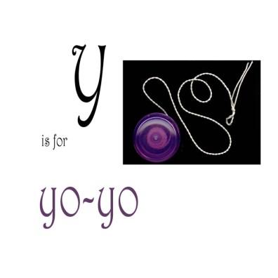Y is for Yo-yo