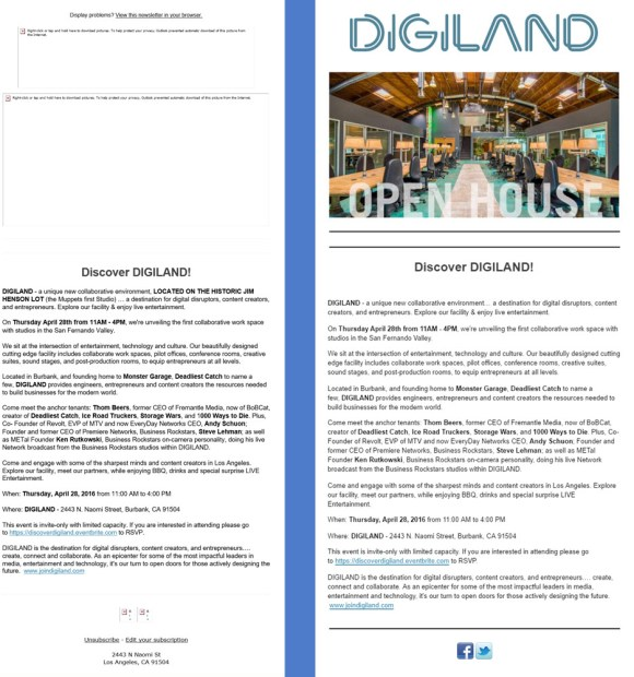 digiland without and with images