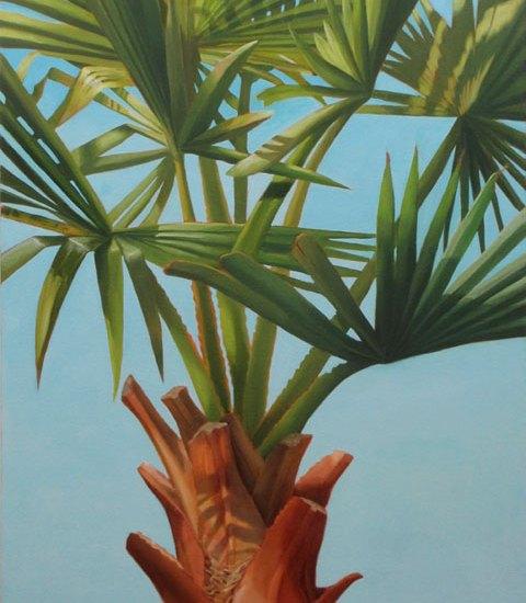 Manifest Destiny, oil on canvas, 60x30in, © Jean Wilkey