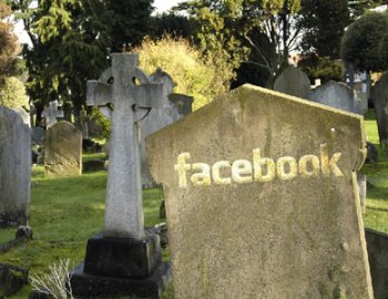 Facebook Gravestone