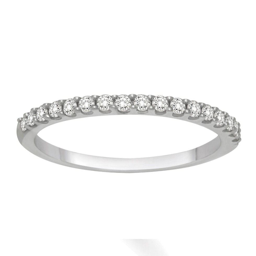 28 diamond wedding bands p 2 diamond wedding band Affordable Diamond Wedding Band for Her in White Gold