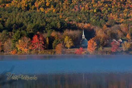 Fall foliage images of New Hampshire
