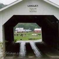 Vermont scenic drive - Montgomery covered bridges