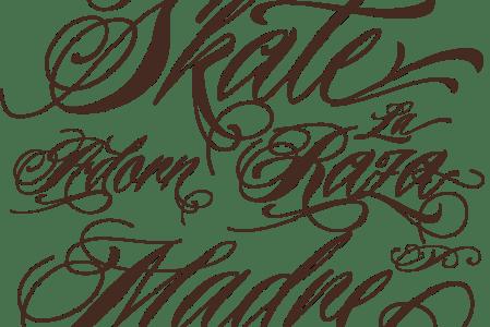 new tattoo font
