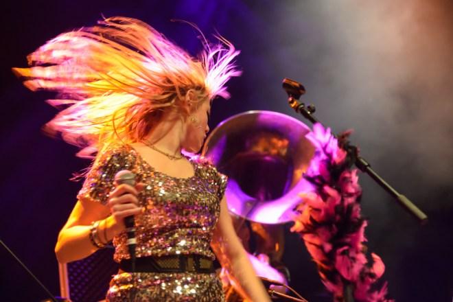 horn and hair