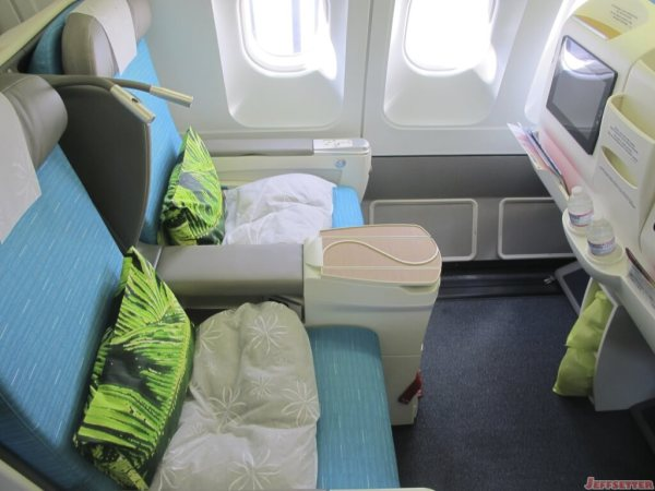 The New Air Tahiti Nui Business Class Seats and Legroom