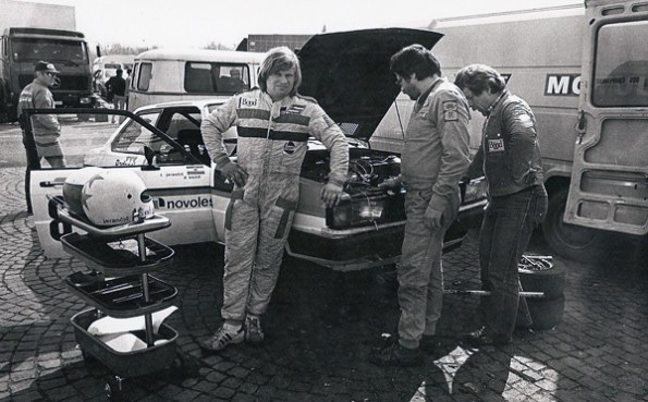 1983 - Touring Cars European Championship in Monza (Italy) with Audi