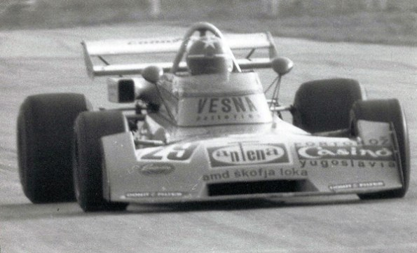 Formula 2 in Zolder (Belgium) - Surtees TS15 Ford Hart