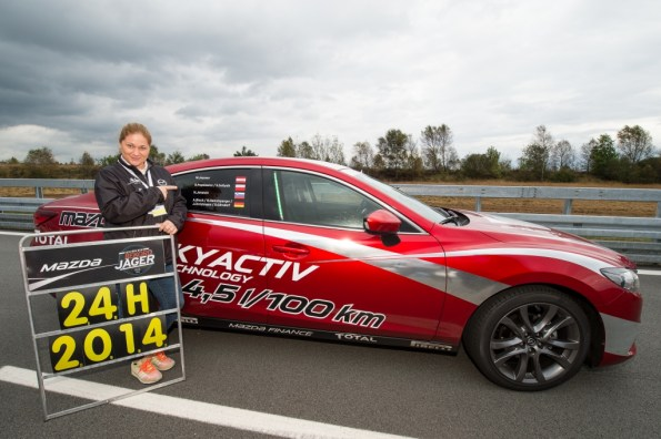 2014 - World Record at ATP Papenburg (Germany) with Mazda6