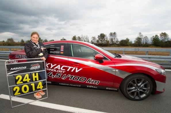 2014 - World Record at ATP Papenburg (Germany) with Mazda6