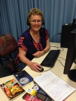 Online presenting at the School of Isolated and Distance Education, Leederville.