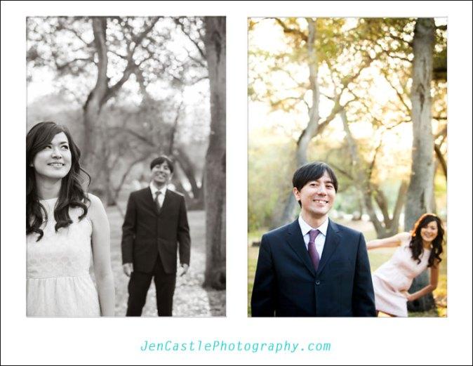 Japan, Descanso Gardens, Engagement Shoot, Flintridge, La Cañada, Los Angeles ©Jen Castle Photography