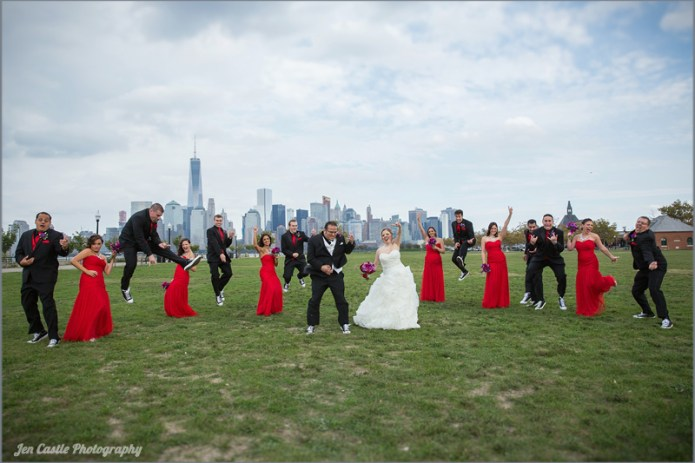 new york, new jersey, jersey city, new york city, wedding photography, photographer, The Liberty House, ©Jen Castle Photography, weddings, the wedding party