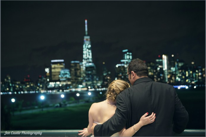 new york, new jersey, jersey city, new york city, wedding photography, photographer, The Liberty House, ©Jen Castle Photography, weddings, wedding portrait, new york skyline