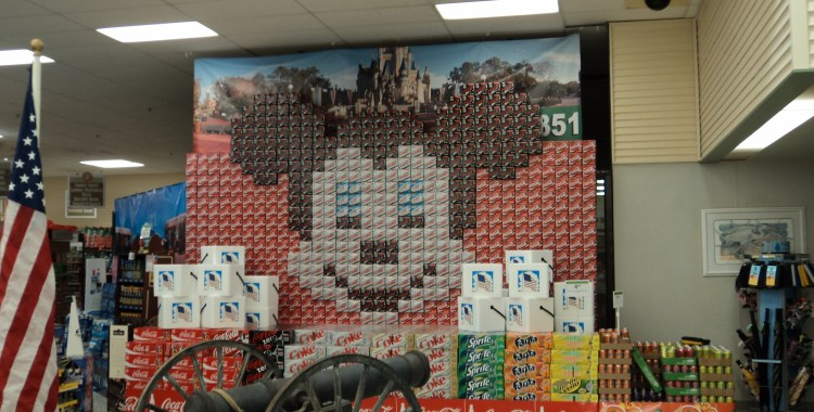 Publix Pop Display