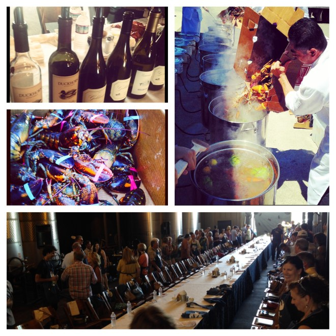 Highlights from Paraduxx Wine Lobster Dinner event. Photos Courtesy of Julia Lawson.