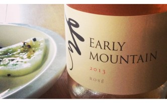 Early Mountain Rose Wine