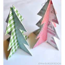 Small Crop Of Paper Christmas Decorations
